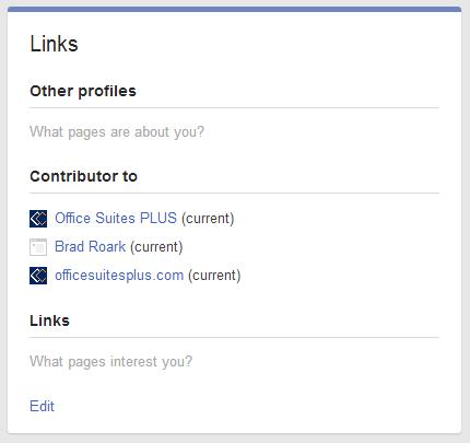 contributor links
