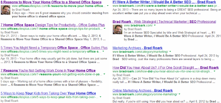 Brad Roark New Google Authorship